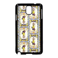 Vintage Halloween Postcard Samsung Galaxy Note 3 Neo Hardshell Case (Black)