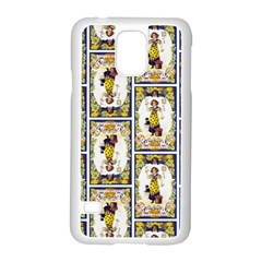 Vintage Halloween Postcard Samsung Galaxy S5 Case (White)