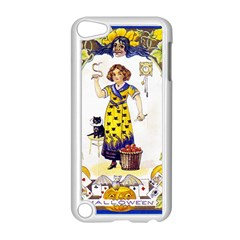 Vintage Halloween Postcard Apple iPod Touch 5 Case (White)