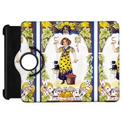 Vintage Halloween Postcard Kindle Fire HD 7  (1st Gen) Flip 360 Case