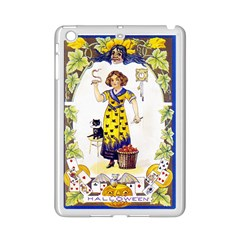 Vintage Halloween Postcard Apple iPad Mini 2 Case (White)