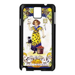 Vintage Halloween Postcard Samsung Galaxy Note 3 N9005 Case (Black)