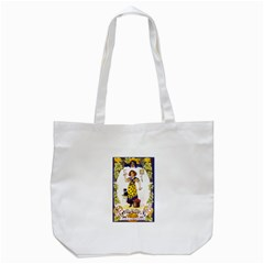 Vintage Halloween Postcard Tote Bag (White)