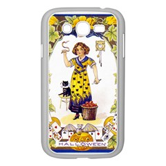 Vintage Halloween Postcard Samsung Galaxy Grand DUOS I9082 Case (White)