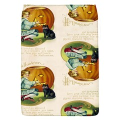 Vintage Halloween Postcard Removable Flap Cover (Small)
