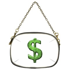 Grunge Style Money Sign Symbol Illustration Chain Purse (two Sided)