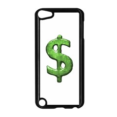 Grunge Style Money Sign Symbol Illustration Apple iPod Touch 5 Case (Black)