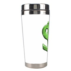 Grunge Style Money Sign Symbol Illustration Stainless Steel Travel Tumbler