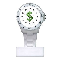 Grunge Style Money Sign Symbol Illustration Nurses Watch