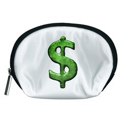 Grunge Style Money Sign Symbol Illustration Accessory Pouch (Medium)