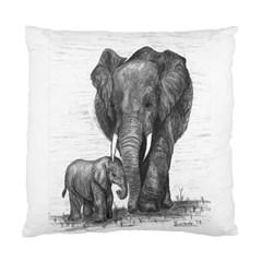 Elephant Cushion Case (single Sided)