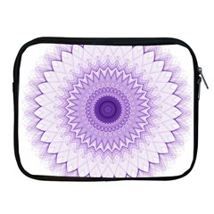 Mandala Apple Ipad Zippered Sleeve
