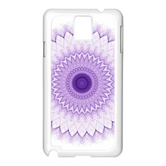Mandala Samsung Galaxy Note 3 N9005 Case (White)