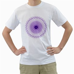 Mandala Men s T-Shirt (White)