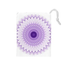 Mandala Drawstring Pouch (Medium)