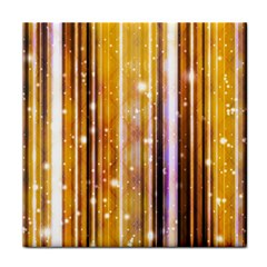 Luxury Party Dreams Futuristic Abstract Design Ceramic Tile