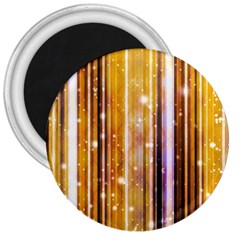 Luxury Party Dreams Futuristic Abstract Design 3  Button Magnet