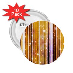 Luxury Party Dreams Futuristic Abstract Design 2 25  Button (10 Pack)