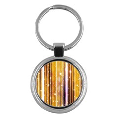Luxury Party Dreams Futuristic Abstract Design Key Chain (Round)