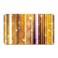 Luxury Party Dreams Futuristic Abstract Design Magnet (rectangular)