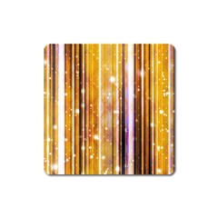 Luxury Party Dreams Futuristic Abstract Design Magnet (Square)