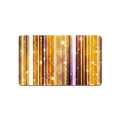 Luxury Party Dreams Futuristic Abstract Design Magnet (name Card)