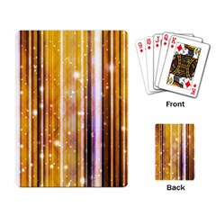 Luxury Party Dreams Futuristic Abstract Design Playing Cards Single Design