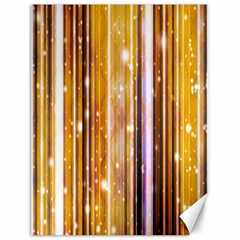 Luxury Party Dreams Futuristic Abstract Design Canvas 18  x 24  (Unframed)