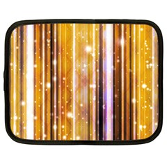 Luxury Party Dreams Futuristic Abstract Design Netbook Sleeve (xl)