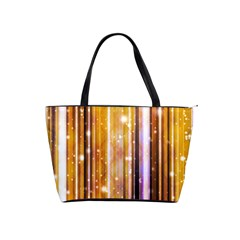 Luxury Party Dreams Futuristic Abstract Design Large Shoulder Bag