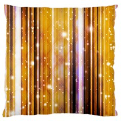 Luxury Party Dreams Futuristic Abstract Design Large Cushion Case (two Sided)