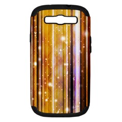 Luxury Party Dreams Futuristic Abstract Design Samsung Galaxy S Iii Hardshell Case (pc+silicone)