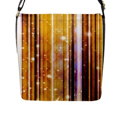 Luxury Party Dreams Futuristic Abstract Design Flap Closure Messenger Bag (Large)