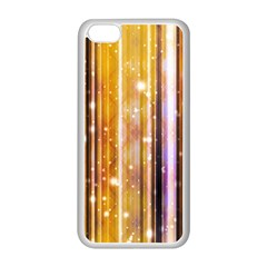 Luxury Party Dreams Futuristic Abstract Design Apple iPhone 5C Seamless Case (White)