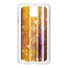 Luxury Party Dreams Futuristic Abstract Design Samsung Galaxy Note 3 N9005 Case (white)
