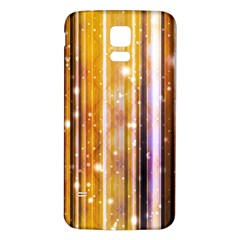 Luxury Party Dreams Futuristic Abstract Design Samsung Galaxy S5 Back Case (White)
