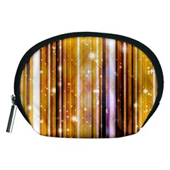 Luxury Party Dreams Futuristic Abstract Design Accessory Pouch (Medium)