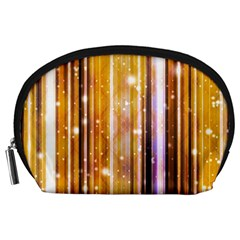 Luxury Party Dreams Futuristic Abstract Design Accessory Pouch (Large)