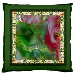 Christmas Eve By Saprillika Large Cushion Case (two Sided)