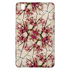 Red Deco Geometric Nature Collage Floral Motif Samsung Galaxy Tab Pro 8 4 Hardshell Case