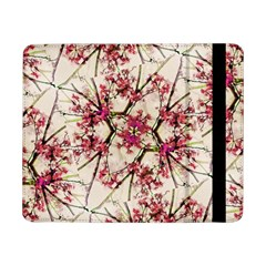 Red Deco Geometric Nature Collage Floral Motif Samsung Galaxy Tab Pro 8 4  Flip Case