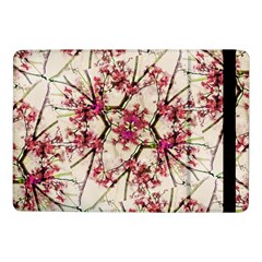 Red Deco Geometric Nature Collage Floral Motif Samsung Galaxy Tab Pro 10.1  Flip Case