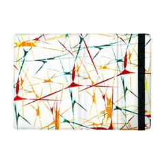 Colorful Splatter Abstract Shapes Apple Ipad Mini Flip Case