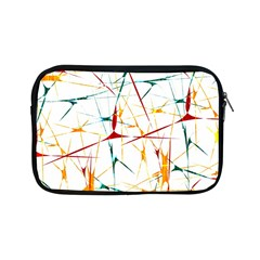 Colorful Splatter Abstract Shapes Apple iPad Mini Zippered Sleeve