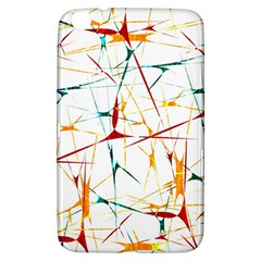 Colorful Splatter Abstract Shapes Samsung Galaxy Tab 3 (8 ) T3100 Hardshell Case
