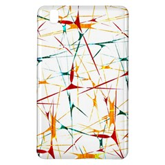 Colorful Splatter Abstract Shapes Samsung Galaxy Tab Pro 8 4 Hardshell Case