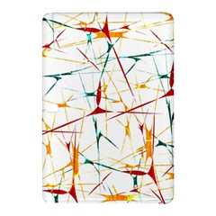 Colorful Splatter Abstract Shapes Samsung Galaxy Tab Pro 12 2 Hardshell Case