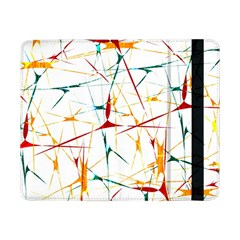 Colorful Splatter Abstract Shapes Samsung Galaxy Tab Pro 8.4  Flip Case