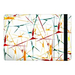 Colorful Splatter Abstract Shapes Samsung Galaxy Tab Pro 10.1  Flip Case