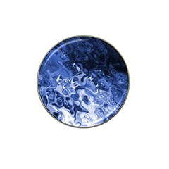 Blue Waves Abstract Art Golf Ball Marker 4 Pack (for Hat Clip)